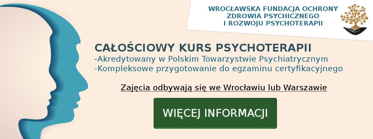 kurs psychoterapii informacje